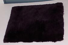 Wheelchair-Sheepskin Seat Cushion-Purple color