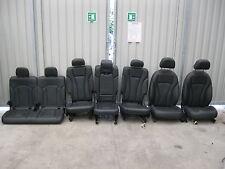 Original Audi Q7 4M Innenausstattung Leder Sport 7 Sitzer schwarz beheizbar