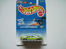 Hot Wheels   1997   '1970'  Plymouth Barracuda  #523
