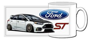 ford focus rs mug, focus st, rally car, wrc, fiesta, turbo, awd, 4x4,  ecotec