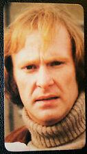 Dennis Waterman  Sweeney  Minder  TV Actor  1970's Colour Photo Card ## VGC