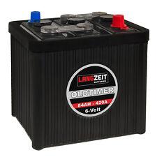 Oldtimer Autobatterie Batterie 6V 84Ah 420A/EN Starterbatterie 6 Volt 08411