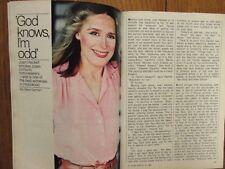 1980 TV Guide (JOAN HACKETT/ DUKES OF HAZZARD/BJ &THE BEAR/GREG EVIGAN/TOM WOPAT