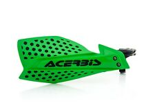 Acerbis X Ultimate Handguards Hand Guards Kawasaki KXF250 KXF450 Green / Black