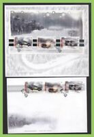 Norway 2007 Motor Sport. Norway Winter Rally set & m/s First Day Covers