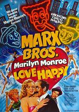 LOVE HAPPY 1949 SUPER 8 B/W SOUND 4 X 400FT CINE FILM 8MM MARX BROTHERS