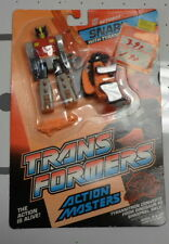 SALE!! - G1 Transformers ACTION MASTER SNARL Action Figure - ON CARD MOSC
