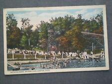 MEYERS LAKE amusement park Bathers & Water Slides 1920s