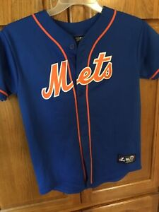 Youth L New York Mets Mlb Jersey Majestic Wright 5