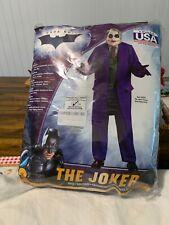The Dark Knight - The Joker - Adult Costume - NEW Men's Medium STD XL