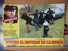 411 The French Connection, contra el imperio de la droga Gene Hackman,  Roy Sche