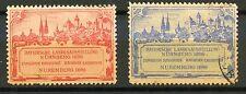 ERINNOPHILIE TIMBRE / VIGNETTE / GERMANY ALLEMAGNE NUREMBERG 1896