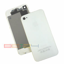 Backcover Akkudeckel Für iPhone 4S Rückschale Rückseite Glas Ersatz Weiß Neu