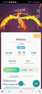 Pokemon Legendary Go Moltres Same Day Trade Or 30 Day