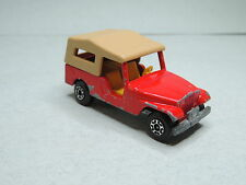 Matchbox Lesney Superfast n°53 JEEP CJ6 4x4 Voiture red diecast car
