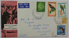 New Zealand 1962 Health Stamps on Official Illustrated FDC with Torbay CDS