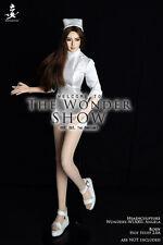 WONDERY TWS003 1/6 Female White Girl Nurse Clothing Suits F 12'' Figure Body