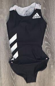 Adidas Adizero Running Gymnastics Leotard Black EH4240 Women's Small MSRP$165