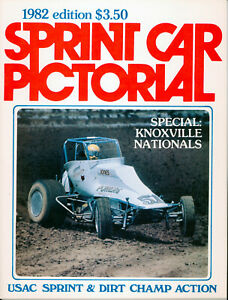 SPRINT CAR PICTORIAL 1982 USAC SPRINT CARS SILVER CROWN AUTO RACING!