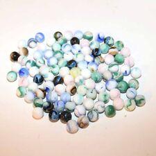 JABO Green Swirl Marbles - Lot of 100