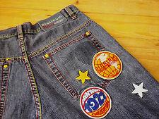 Harlem Globetrotters FUBU Stylish Jeans of World FAMOUS Harlem Globetrotters 34