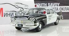 Plymouth Savoy Police of USA 1955. Diecast Metal model 1:43 Deagostini
