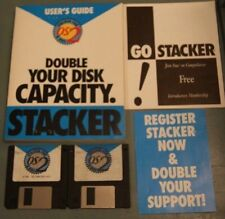 Stacker for OS/2 and DOS Software Double Your Disk Capacity 3.5 Media