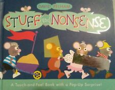 Stuff and Nonsense: A Touch-and-Feel Book with a Pop-Up Surprise David Pelham