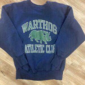 WARTHOG ATHLETIC CLUB VINTAGE 90s CHAMPION REVERSE WEAVE SWEATSHIRT LARGE