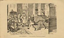 george cruikshank print 1839 : december - the winter of our discontent