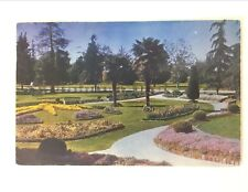 Postcard Bixby Park Long Beach California C 1953 Posted