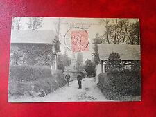 Magnifique CPA - Veules Les Roses - La Chapelle sur Dun - Entrèe du village - 76
