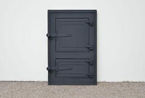 29.5 x 45.5 cm cast iron fire door clay / bread oven door / pizza stove doors