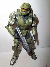 """Halo **MASTER CHIEF 117 """"The Package"""" from Legends box set 100% Complete w/ Gun"""