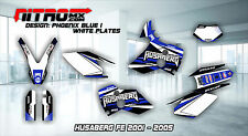 HUSABERG Graphics Kit Decals Design Stickers FE 400 450 501 550 650 2001-2005 MX