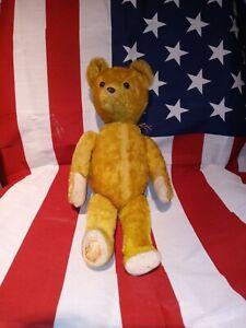 IDEAL vintage jointed mohair teddy bear