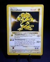 Shadowless Electabuzz 20/102 Rare WotC Pokemon Base Set Card * NM+ * PSA WORTHY