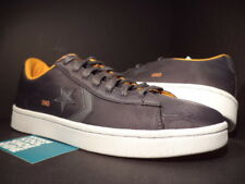 CONVERSE PRO LEATHER UND UNDFTD UNDEFEATED OX ASH GREY AUTUMN ORANGE 133075C 7.5