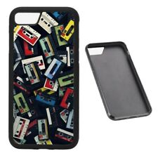 Cassette Mixtapes Old School RUBBER phone case Fits iPhone