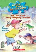 The Case of the Frog-Jumping Contest (Jigsaw Jones Mystery-ExLibrary