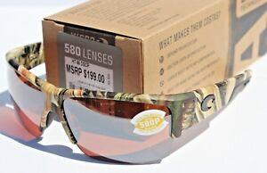 COSTA DEL MAR Hatch POLARIZED Sunglasses Mossy Oak Camo/Silver Mirror 580P NEW
