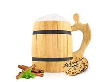Jarra de Cerveza con edelsteineinsatz 500ml madera holzbecher CERVEZA#5