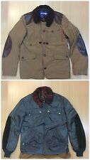 AUTH COMME DES GARCONS JUNYA WATANABE MAN 2009 2 IN 1 HUNTING & BOMBER JACKET L