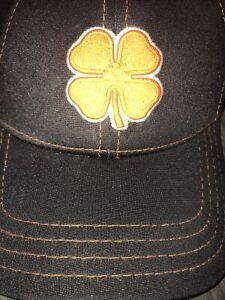 Black Clover Live Lucky Orange Neon Navy   Stretch Hat Cap Size L/XL