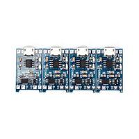 4x / Multi 5V micro usb 1A 18650 modulo di ricarica per batteria al li ouAUITLO