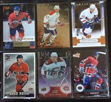 6 Montreal Canadiens Saku Koivu, Phillip Danault, Ryan Walter, Andrei Kostitsyn+