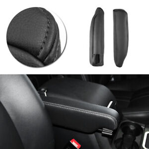 2*LEFT&RIGHT For Land Rover LR3 LR4 DISCOVERY Seat Armrest Handle Leather Cover