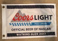 2017 KYLE BUSCH WATKINS GLEN Nascar Coors Light Beer POLE AWARD JGR Joe Gibbs