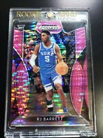 2019 Panini Prizm Draft Picks RJ Barrett  Prizms Pink Pulsar #66  Duke Knicks RC