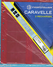 2 RECHARGES CARAVELLE Monnaie 2503 : 24 cases de 36mm